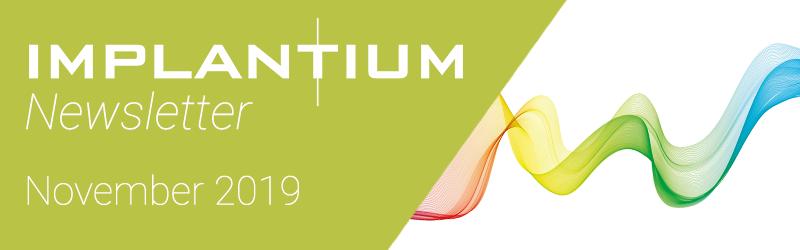Implantium Newsletter – November 2019